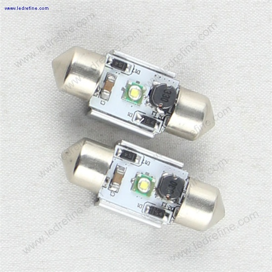 31mm cree canbus festoon bulb
