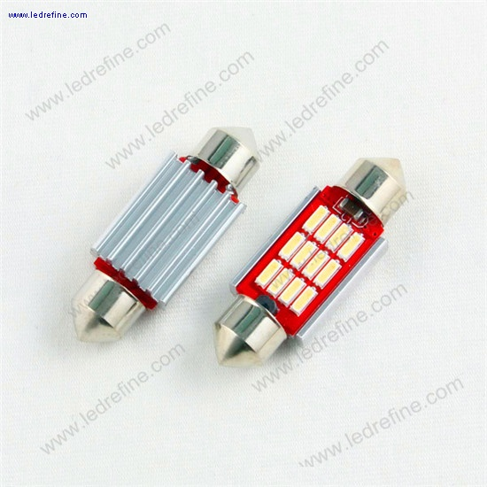 39mm 5630smd 12smd canbus festoon bulb