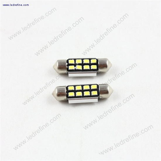36mm 3528smd 8smd canbus festoon bulb