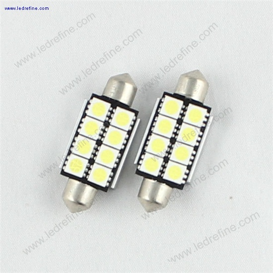 42mm 5050 8smd canbus festoon bulb