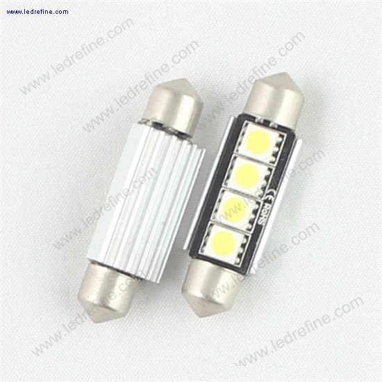 42mm 5050 4smd canbus festoon bulb
