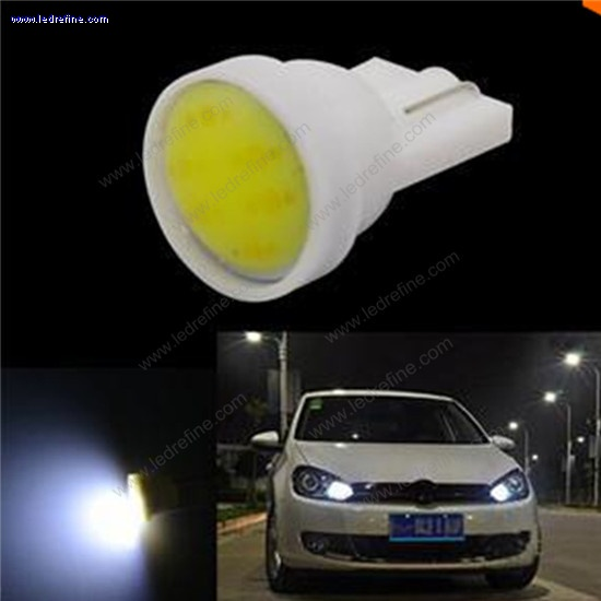 T10 168 194 LED BULB COB ceramic