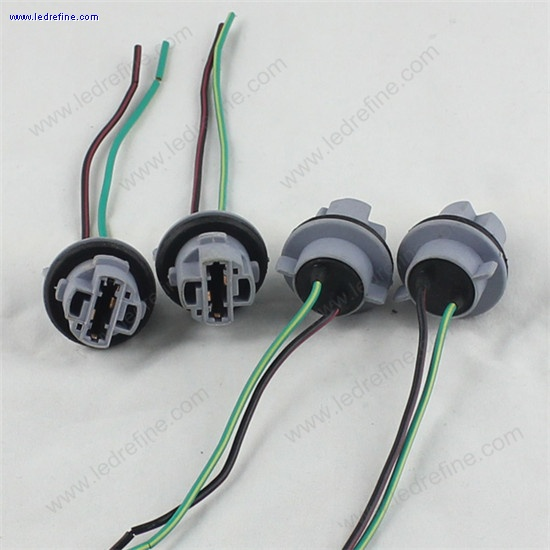 7440 T20 LED Bulb socket harness