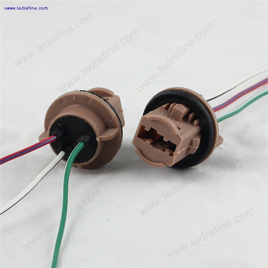 7443T20 LED Bulb socket harness