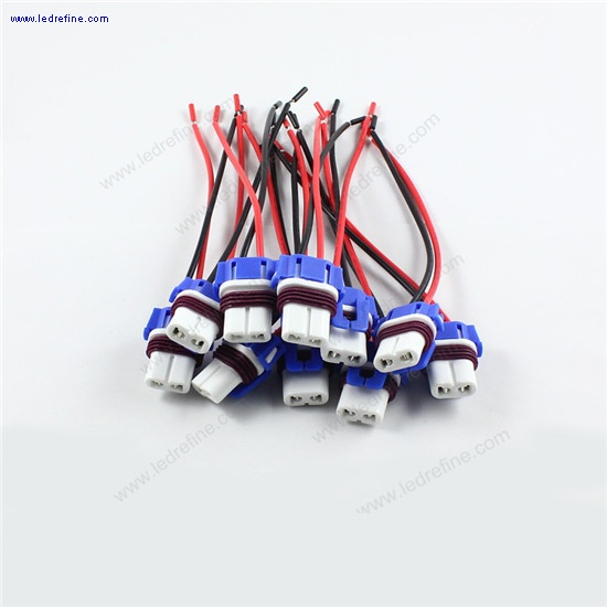 9006 hb4 ceramic LED Bulb socket harness