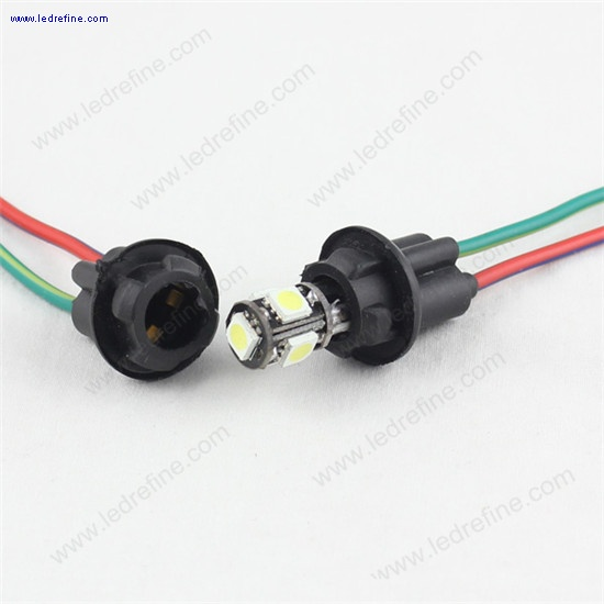 t10 led bulb socket holder connector