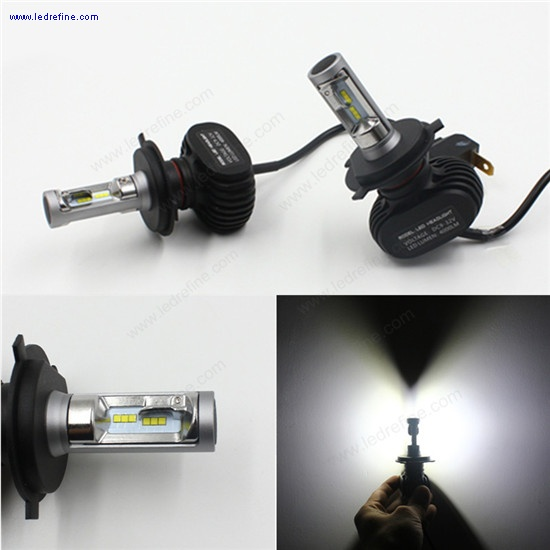 N1 50w 8000lm h4 led headlight