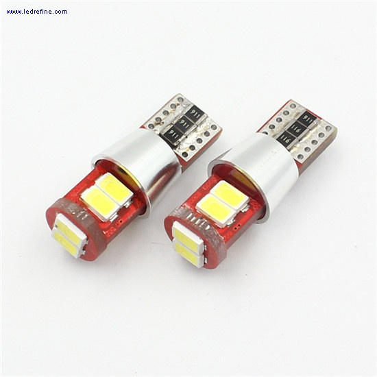 canbus t10 5630 6lsmd led bulb