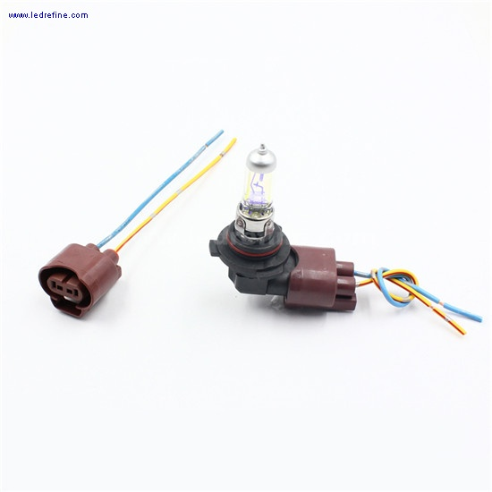 9006 halogen bulb  connector socket