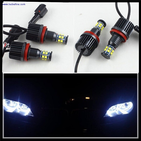 120w h8 angel eyes for bmw e92
