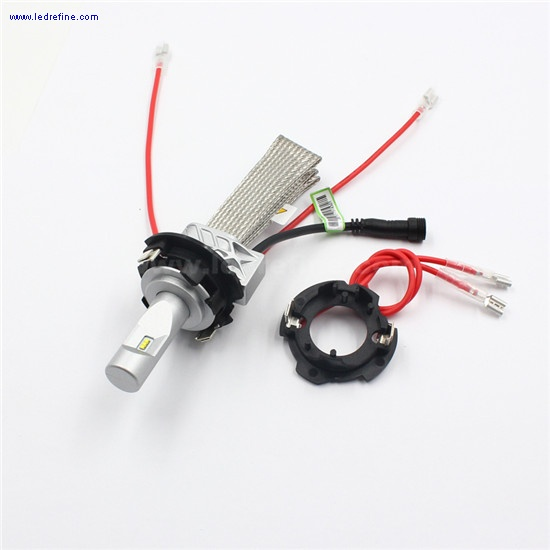 h7 led headlight adapter for golf 5 old jetta