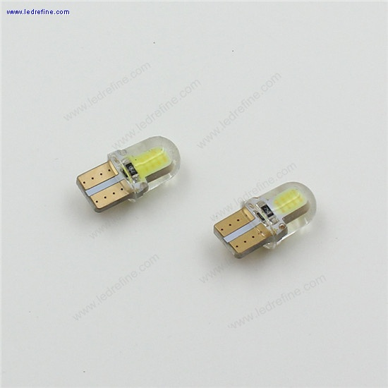 T10 194 W5W COB+Silicone shell LED Lights