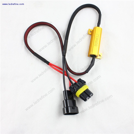 9006 hb4 led fog lamp resitor decoder